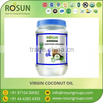 Bulk Supplier of Cold Pressed Organic Virgin Coconut Oil