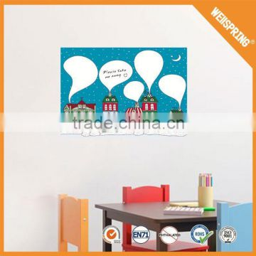 China supplier funny repositionable decorative whiteboard sticker