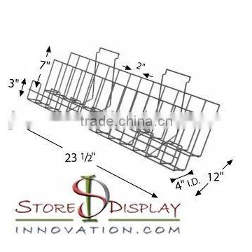 SDS090 Wire Slatwall Shelf