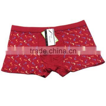 Colorful Printing Men Shorts Sexy Men Bamboo Fabric Underwear Stocklot Men Boxers