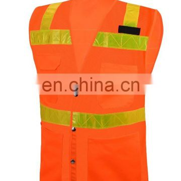 Customized Logo Promotional Reflective Safety Vest