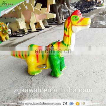 KAWAH Funny Amusement Park Dinosaur Rides Animal Scooter For Kids