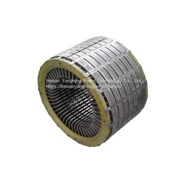 Generator silicon steel lamination iron core electric motor generator rotor stator core