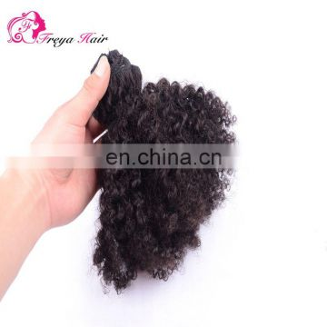 Best Choose Top Quality Virgin Hair Afro Kinky Curly Hair Weave For Black Women