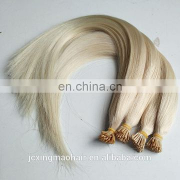 Wholesale Price #60 Remy Italian Keratin Double Drawn Pre Bonded Hair Extensions,I tip hair extensions