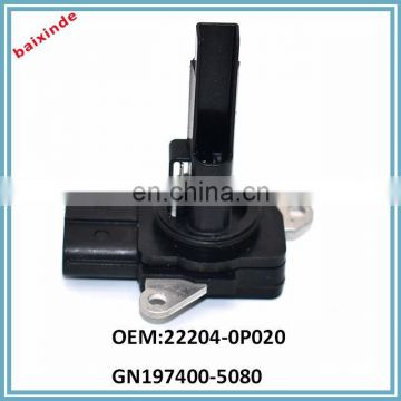 Mass Air Flow Sensor 4Runner Corolla Highlander Scion iQ Lexus RX350 RX450h 22204-0P020 197400-5080