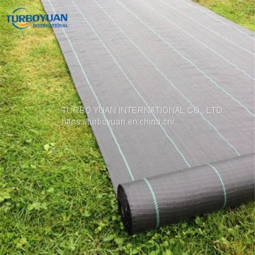 green color prevent weed cloth / plastic weed barrier mat made in China