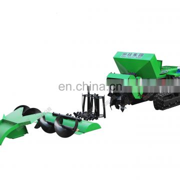 multifunction crawler Orchard soil cultivating machine/  small cultivating machine/backfill soil for sales