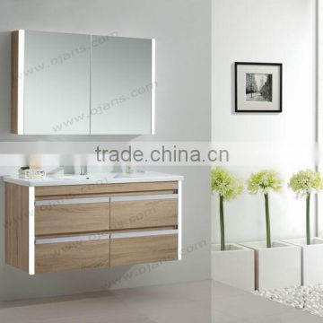 1200mm Bathroom Vanity Antique Wood Bathroom Cabinet