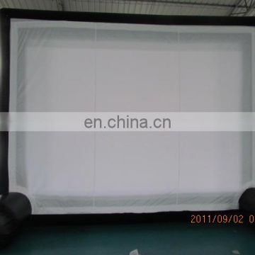 Backyard inflatable movie screen inflatable projector screens for ourdoor