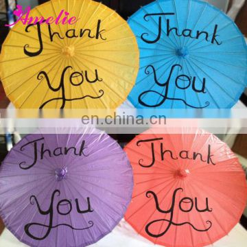 A6260 Customized paper umbrellas umbrella sales
