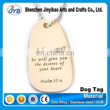 customized christian wooden dog tags for sale