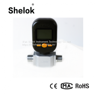 China small gas mass flow meter price