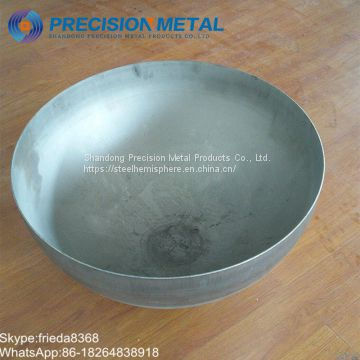 Steel hemisphere Hemispherical Ellipsoidal Dished Heads from China Tank Head Manufacturer