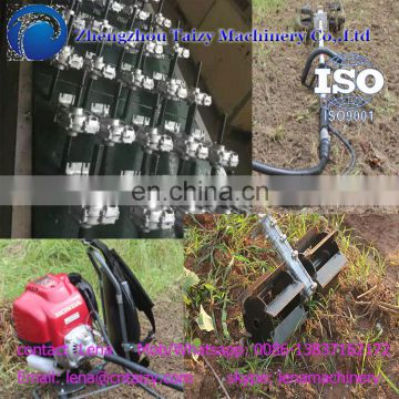 Latest agriculture hand held weeding machine with mini gasoline