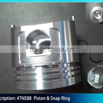 4TNE88 Engine Piston And Ring Assy 129001-22081 of Engine parts from
