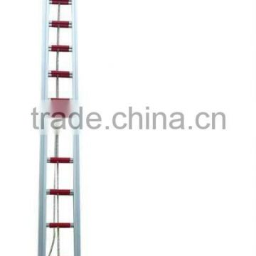 Customized Aluminum fire escape extension folding rope ladder
