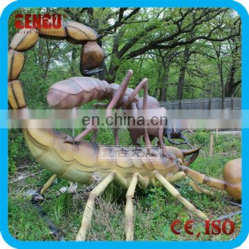Large Animatronic artificial insect statue Scorpion