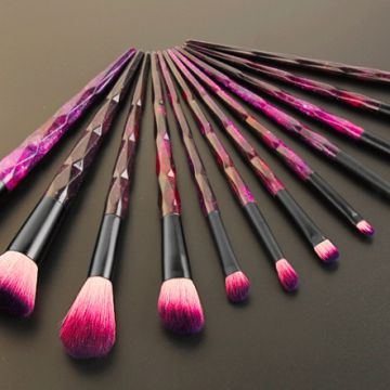 2018 best selling products 12 pcs starry sky makeup cosmetics custom logo makeup brush