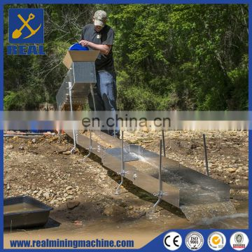 New designed Stream Sluice Gold Sluice Box for sale