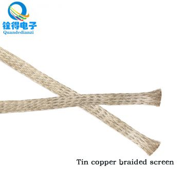 We can supply 144 braided tinning copper braid with braided copper wire for shielding signal