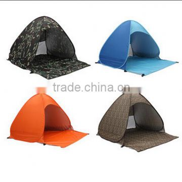 Outdoor Camping Hiking Tent Portable Automatic 2-3 Person Tent Beach Canopy