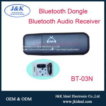 Wireless bluetooth aux car kit usb audio music receiver /dongle/adapter