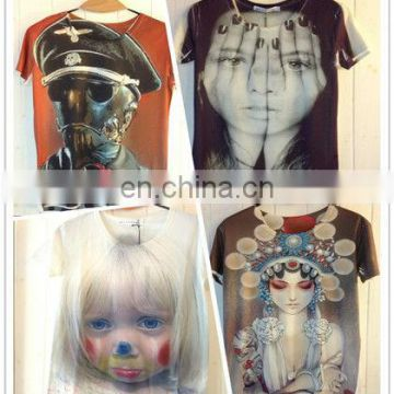 2015 new Men's 3D T-Shirt,Plus Size Free Shipping,xxxl,zero shirts,wholesale rock band t-shirts,xl