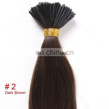 Youth Beauty High Quality Virgin Human Peruvian Hair Silky Straight Wave I Tip Extension