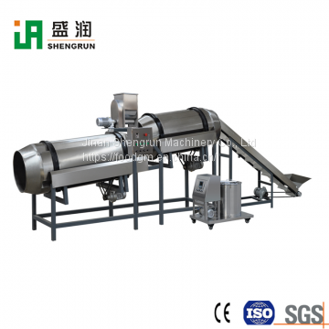 Dry Floating Fish Feed Pellet Making Extruder