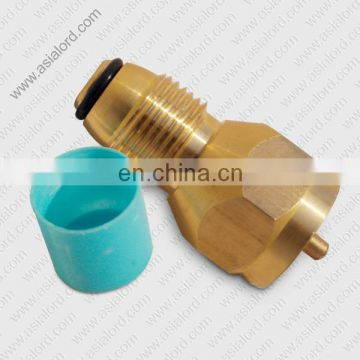 POL connector for gas filling