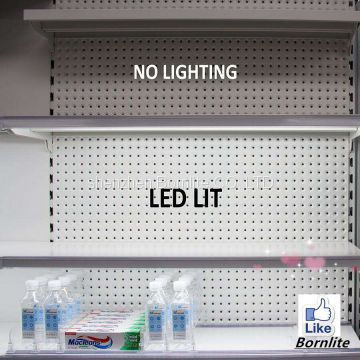 Factory direct sale high quality led linear for cabinet shelf light shop fitting 12v