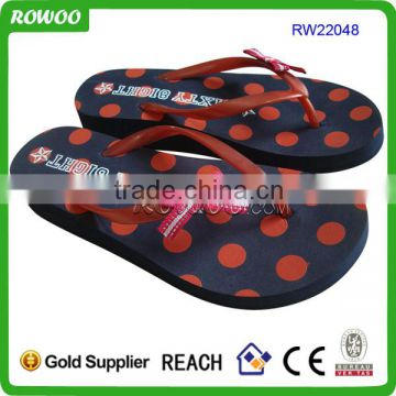 New style unisex rainbow flip flops for Summer Beach Slippers