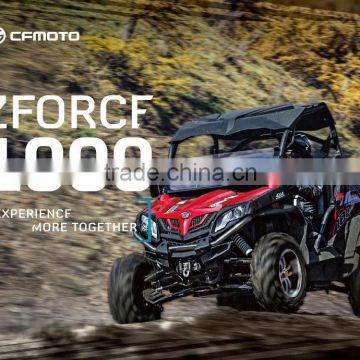 Side By Side Atv >> Cfmoto 1000cc 4x4 Side By Side Atv Utv For Sale Zforce 1000
