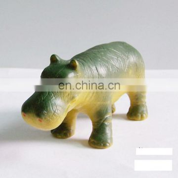 customize hippo animal sculpture as gift and decoration