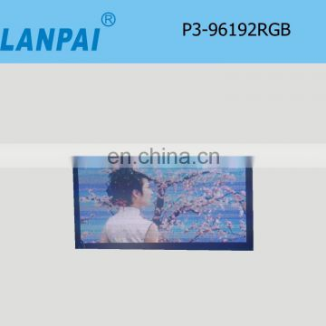 LANPAI super bright outdoor led display screen advertising led display cheap led text display