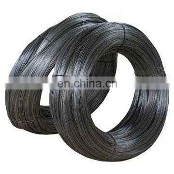Low price 350-450N/m2 tensile strength thin black iron wire sell