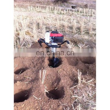 earth auger drill hand small digging machine auger soil drilling auger for earth drilling