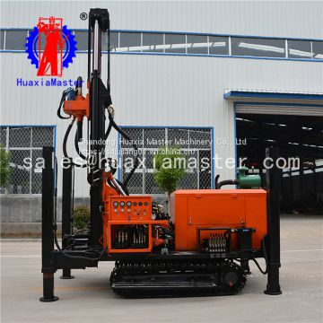 FY200 crawler pneumatic water well drilling rig