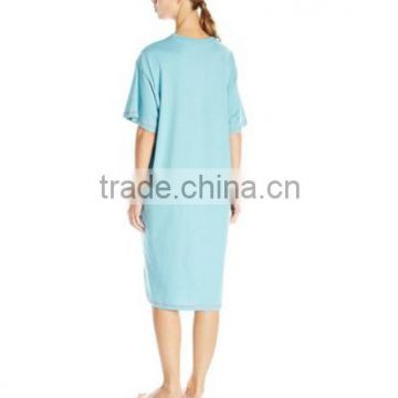 HOT SALE!fashion bamboo nightgown plus size cartoon