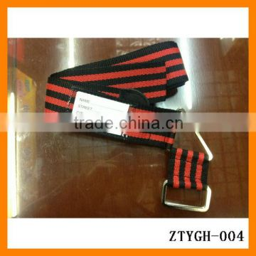 2014 travel accessory tag steel buckle adjustable luggage bag belt customizing ZTYGH-004
