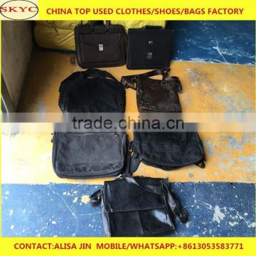 99861b0a3b45 ... fairly used bags in bales wholesale China second hand leather used bags  women men office bags ...