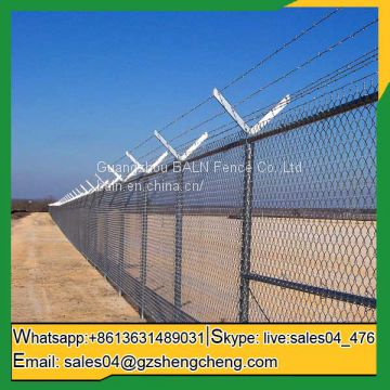 Hot dipped galvanized steel wire garden fence