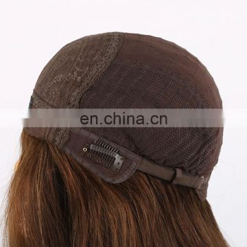 Top Fashion Ombre ColoredVirgin russian Human Hair Full Lace Wig Glueless Jewish Wig Kosher Wigs