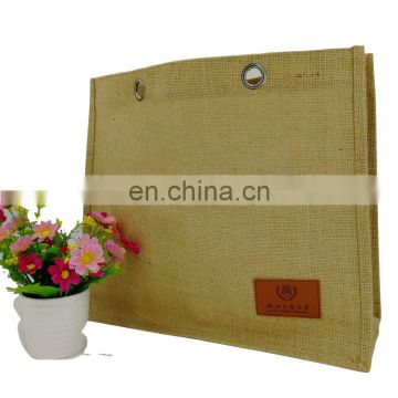 Classic Jute Shopper Ladies Natural Eco Tote Handbag Bag
