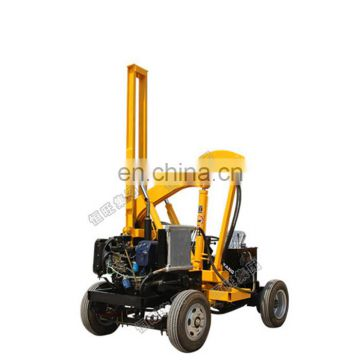 vibrating hydraulic post driver piling machine factory