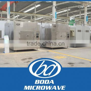 batch type microwave drying oven