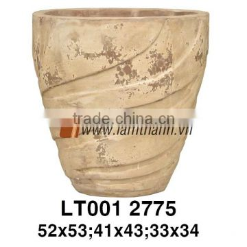 High Quality Romance Terracotta Ceramic Pottery