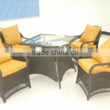 outdoor rattan dining set (new product)