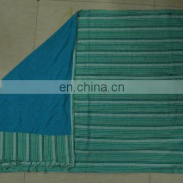 Cotton Kikoi with Polyester Towel attached